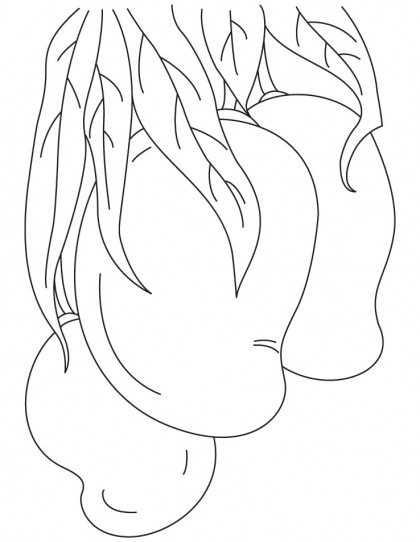 Free Mangos Coloring Pages Ideas Fantasy