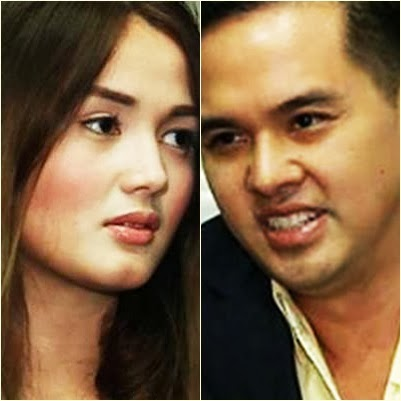 Deniece Cornejo and Cedric Lee