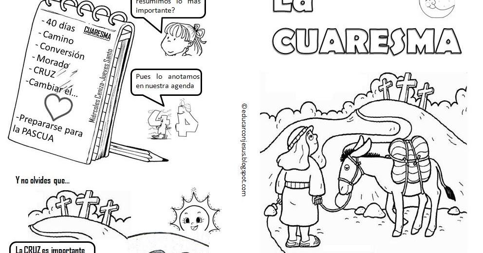 Camino hacia la Pascua: Explicación Sencilla para niños de la ...