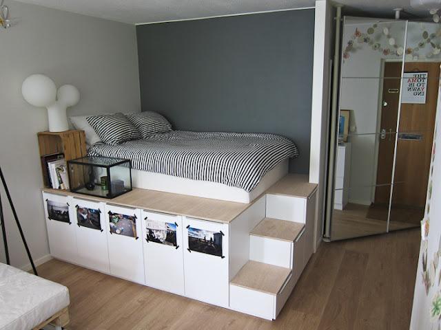 Stauraum unterm Bett – kreative Lösungen mit IKEA Kommoden