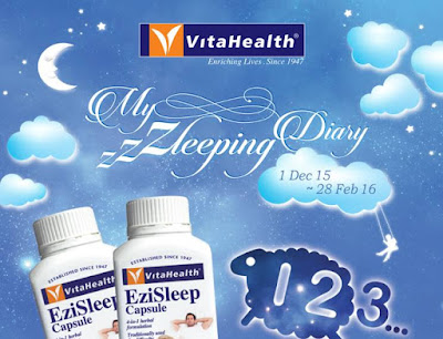 VitaHealth My Zzzleeping Diary Contest
