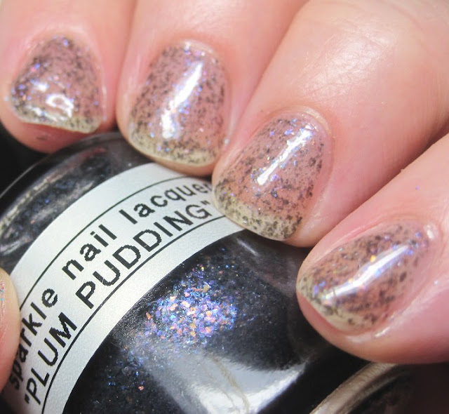 Sparkle Nail Lacquer Plum Pudding