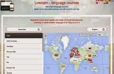 Loecsen: cursos de idiomas online para viajeros, que permite aprender palabras básicas y expresiones comunes