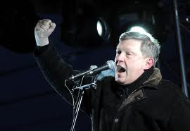 Yavlinsky speaking at Pushkinskaya Square March 5 2012