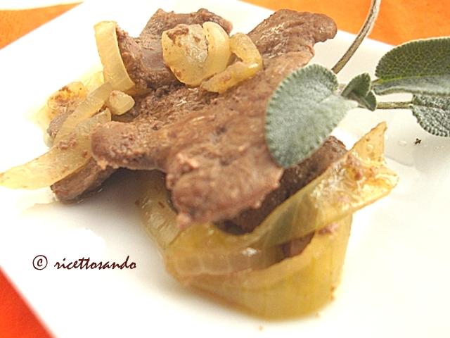 Fegato alla veneta ricetta tradizionale vicentina
