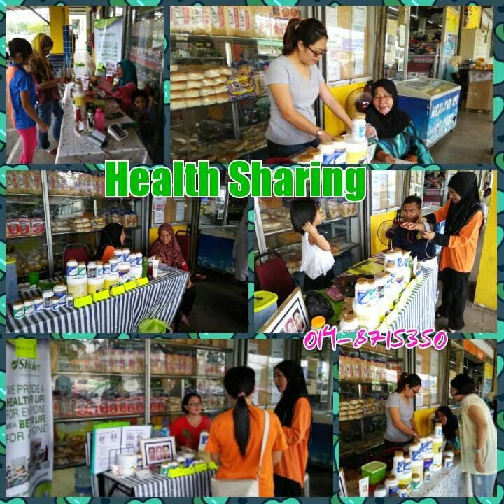 Team aktive shaklee di Labuan; Shaklee health sharing; Shaklee Labuan