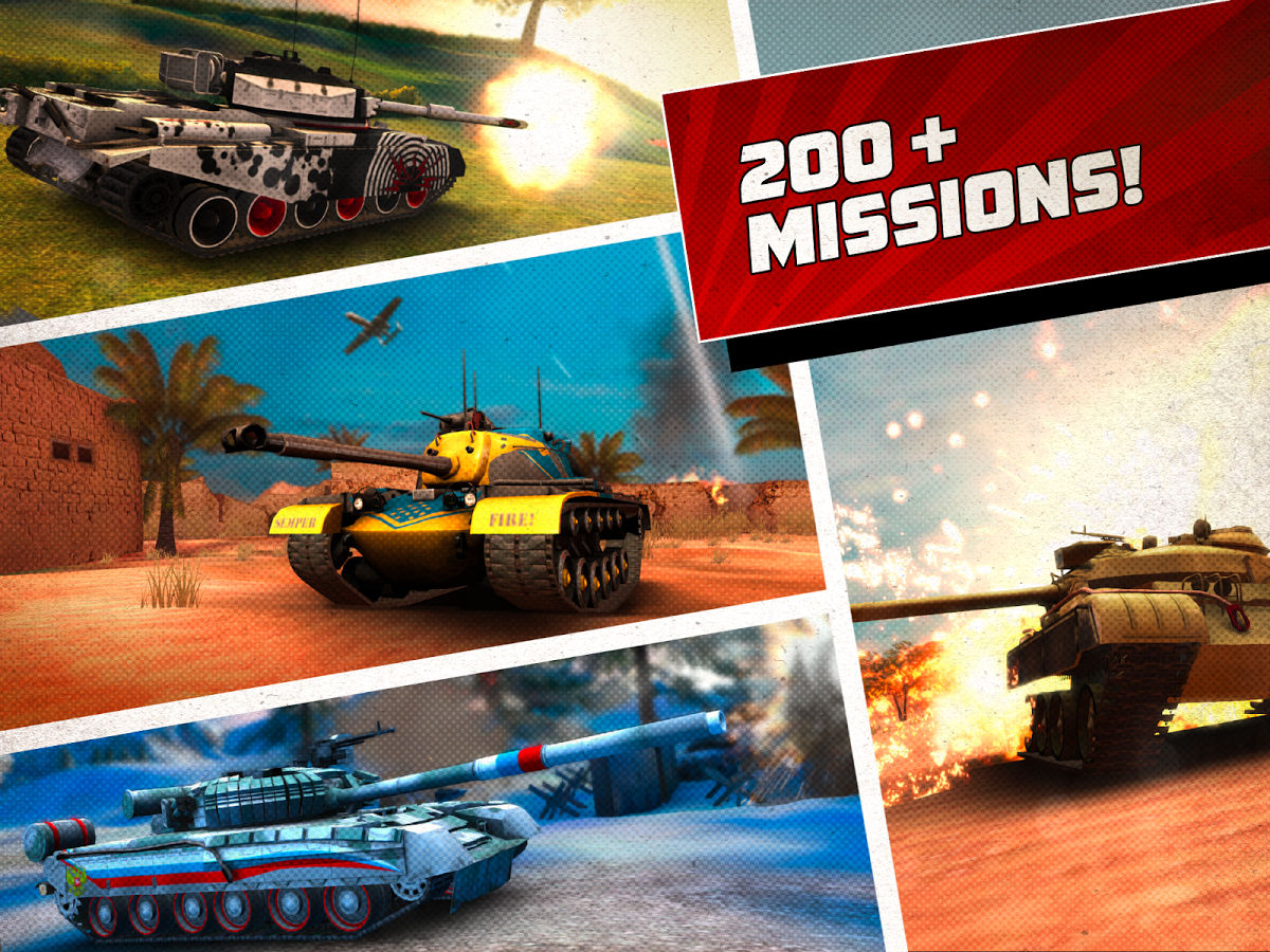 Boom! Tanks full apk