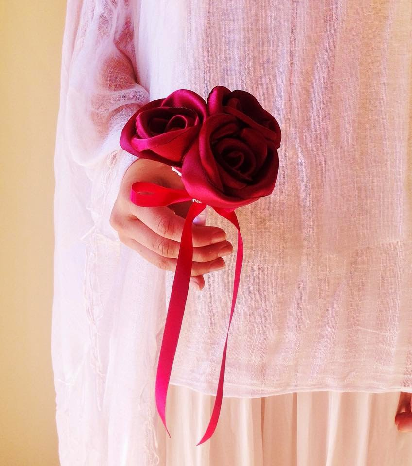 bouquets damas de honra