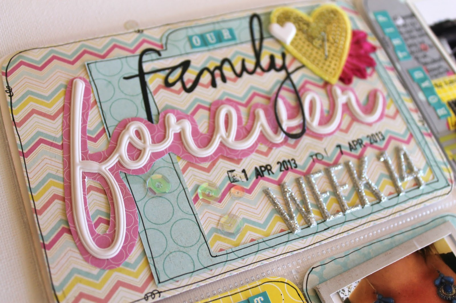 How to scrapbook with project life - So Along With This Awesome Challenge We Were Set As A Team It Is Now Your Chance To Play Along And Show Us How You Layer In Your Project Life Spreads
