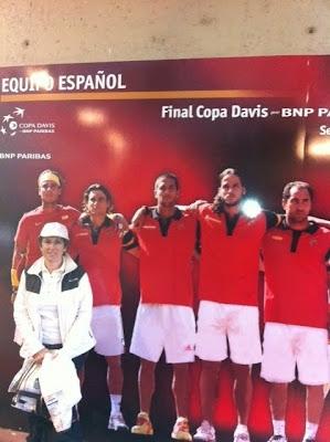 Equipo Español Copa Davis 2011