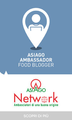 Asiago Ambassador Food Blogger