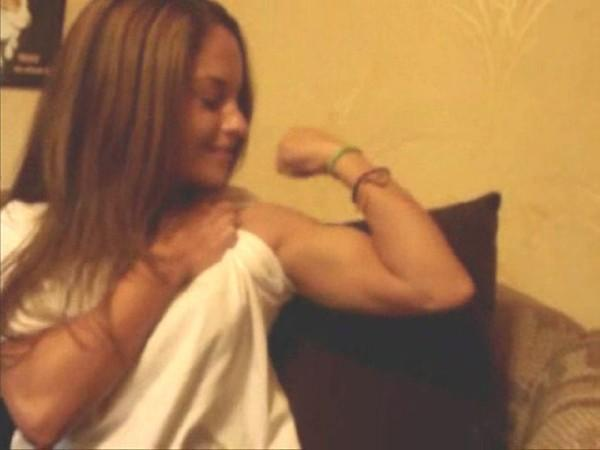 Female arm fetish