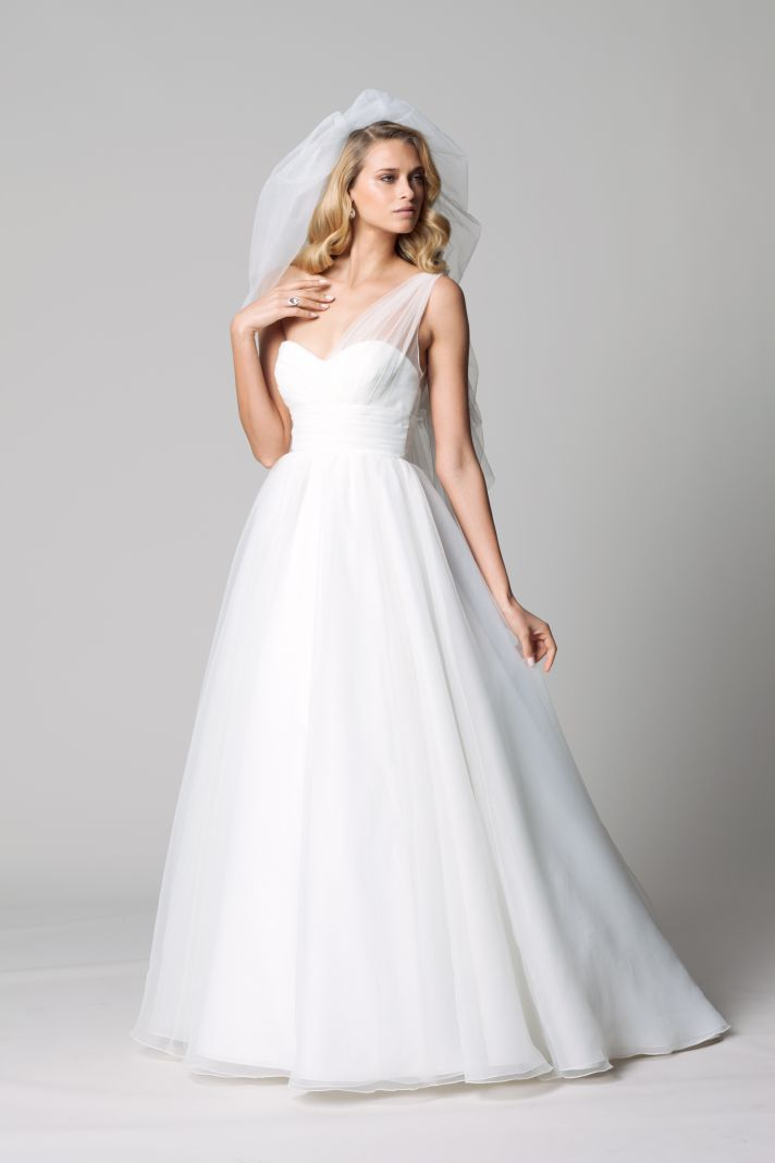 Wedding Dress Styles For Fall - Overlay Wedding Dresses
