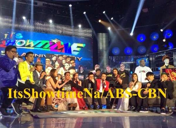 It's Showtime hosts on their 5th anniversary