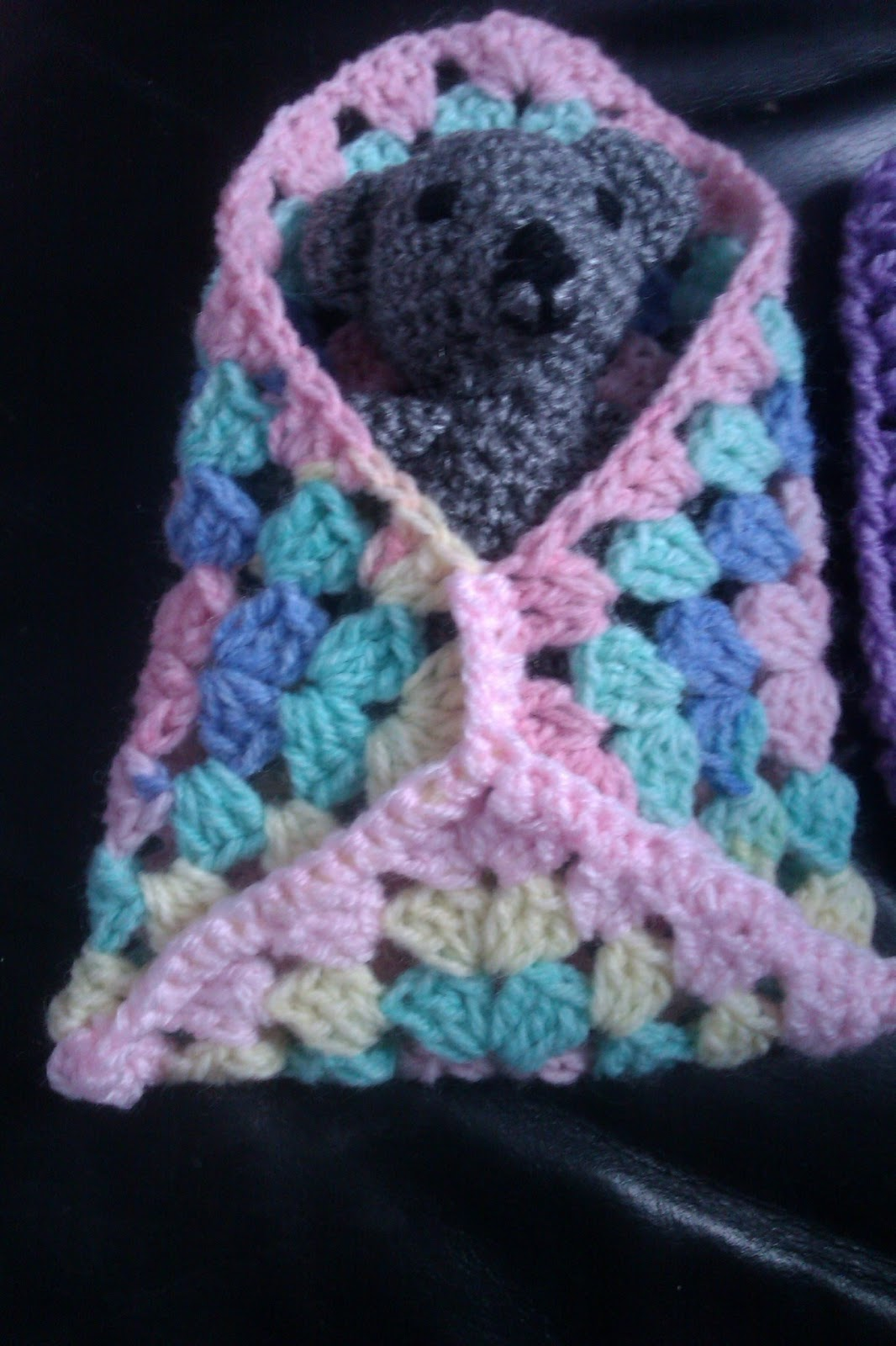 Free Crochet Granny Square Angel : mummyto2pinkys: Granny square crochet angel wrap pattern ...