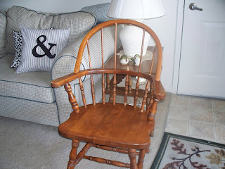 karie 39 s chic creations blue early american chair