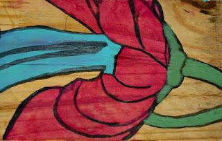 artiste peintre montpellier - Fushia