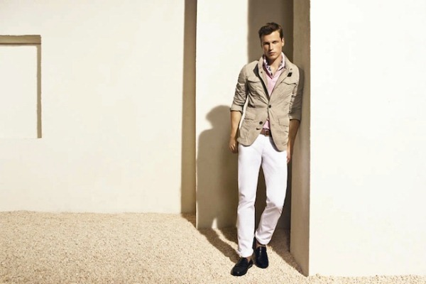 Massimo Dutti Menswear June 2012 Lookbook- photo 9