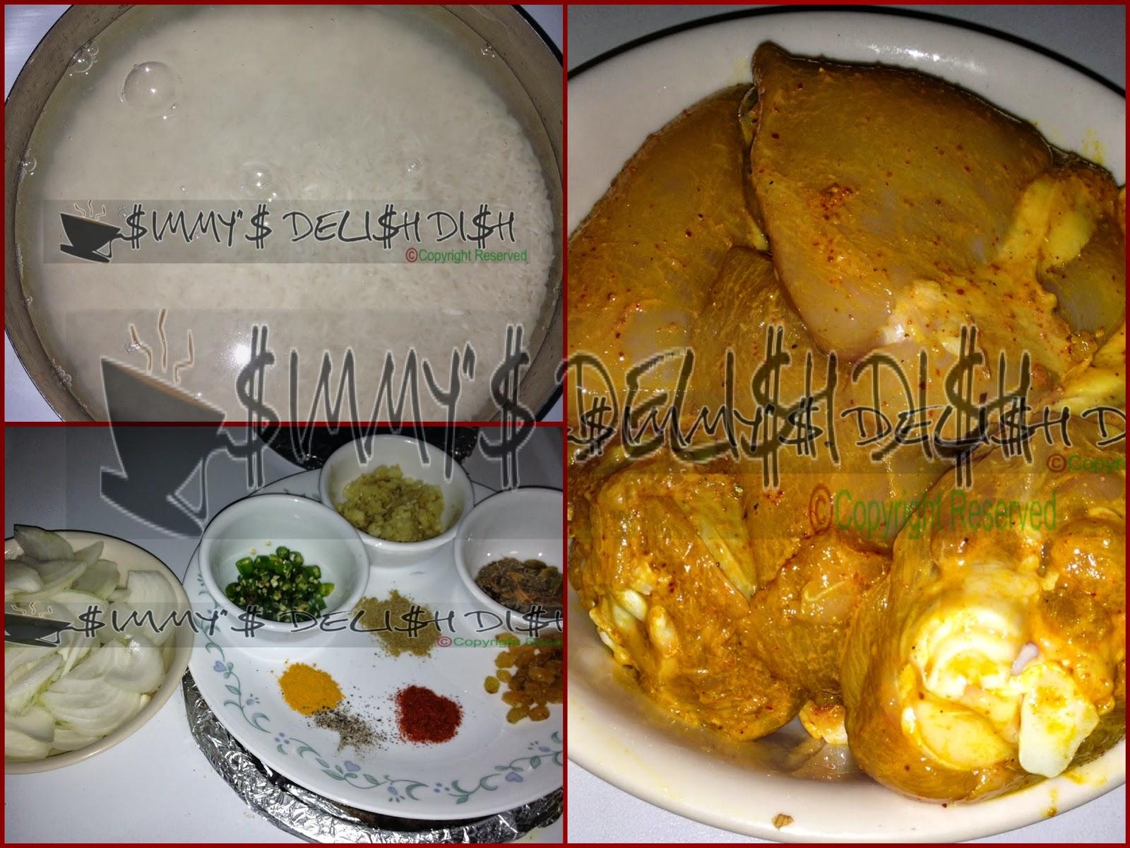 how to make kashmiri chicken pulao