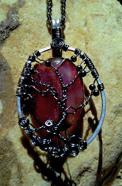 Tree of life with agate