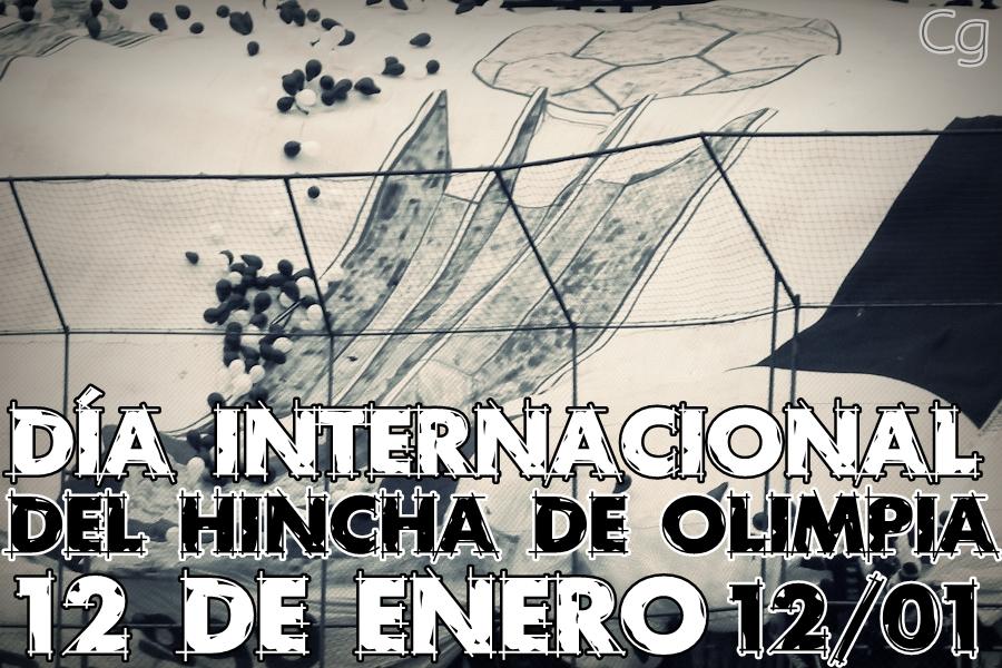 12 De Enero D  A Internacional Del Hincha De Olimpia