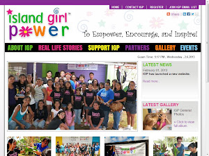 WELCOME TO ISLAND GIRL POWER'S BLOG. LOOKING FOR OUR WEBSITE, INSTEAD? CLICK THE IMAGE BELOW.