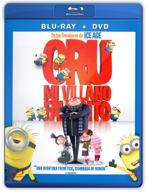 Gru Mi Villano Favorito Bluray