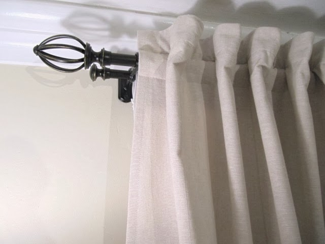 Sew Many Ways How to Turn Tab Top Curtains to Back Tab Curtains