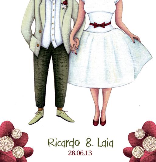 invitaciones de boda ilustracion cucatraca blog petite june