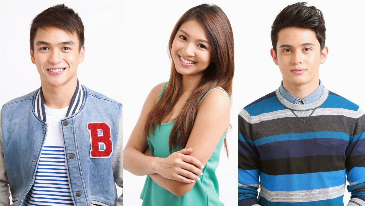 Dominic Roque, Nadine Lustre and James Reid for Wansapanataym Presents: My App Boyfie