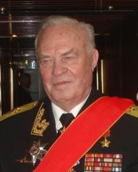 Vladimir Chernavin Almirante Ruso