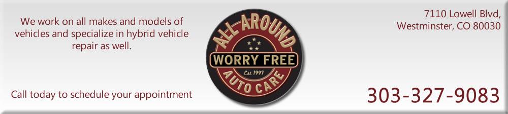 Auto Repair Westminster | Hybrid Car Repair Denver | All Around Auto Care