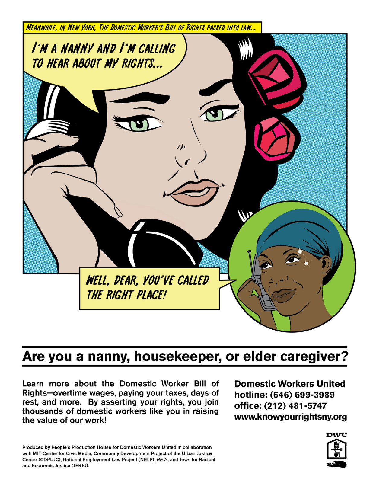 domestic workers united dwu implements a multi media know your dwu implements a multi media know your rights campaign