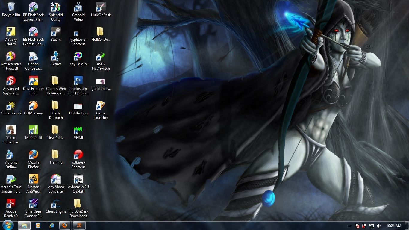 Trololo Blogg Drow Ranger Hd Wallpaper