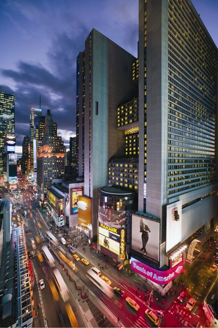 New York S Marriott Marquis Times Square Hotel