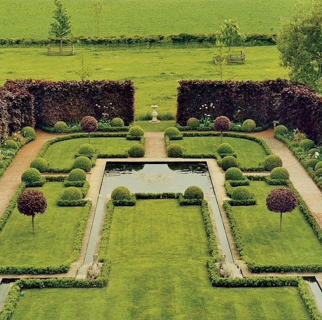 The garden symmetry for Xd garden design