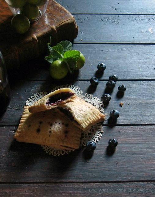 Blueberry, Lime, & Mint Pop Tarts | une gamine dans la cuisine