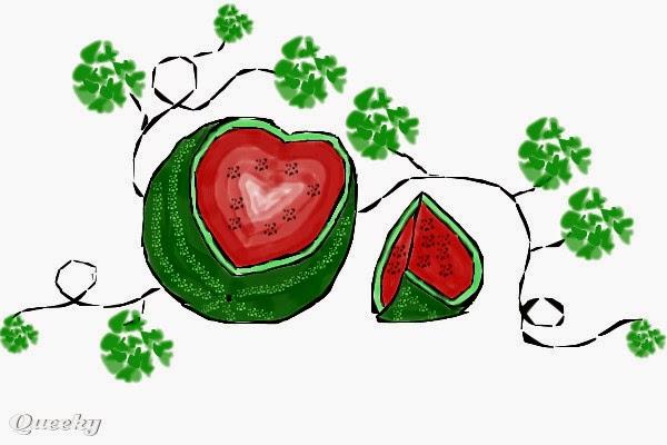 Gambar Pohon Semangka Kartun Lucu Watermelon Tree Cartoon Pictures Wallpaper