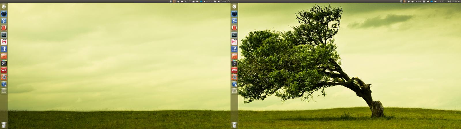 ubuntu multi monitor tweaks full screen flash fixes span