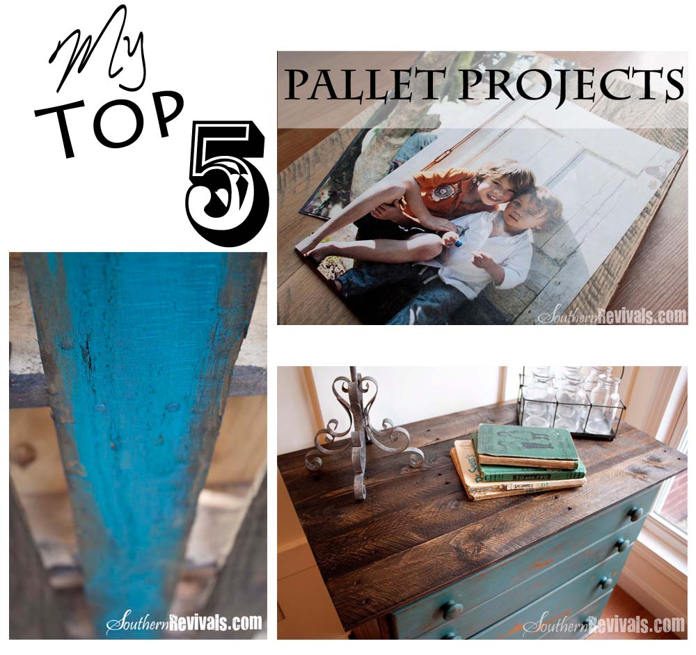 My Top 5 DIY Pallet Projects My