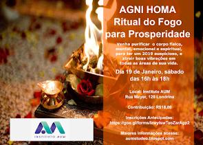 Agni Homa - Ritual do Fogo para Prosperidade 2019