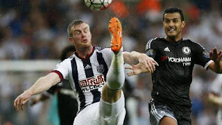 Pedro Man of The Match West Brom vs Chelsea 2-3