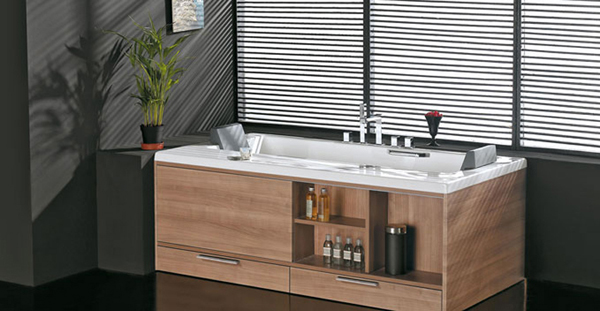 Modern Innovative Bathroom Design With Drawer By Royo Group