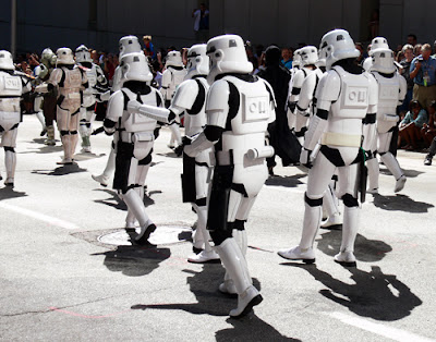 Stormtroopers at the Dragon*Con Parade