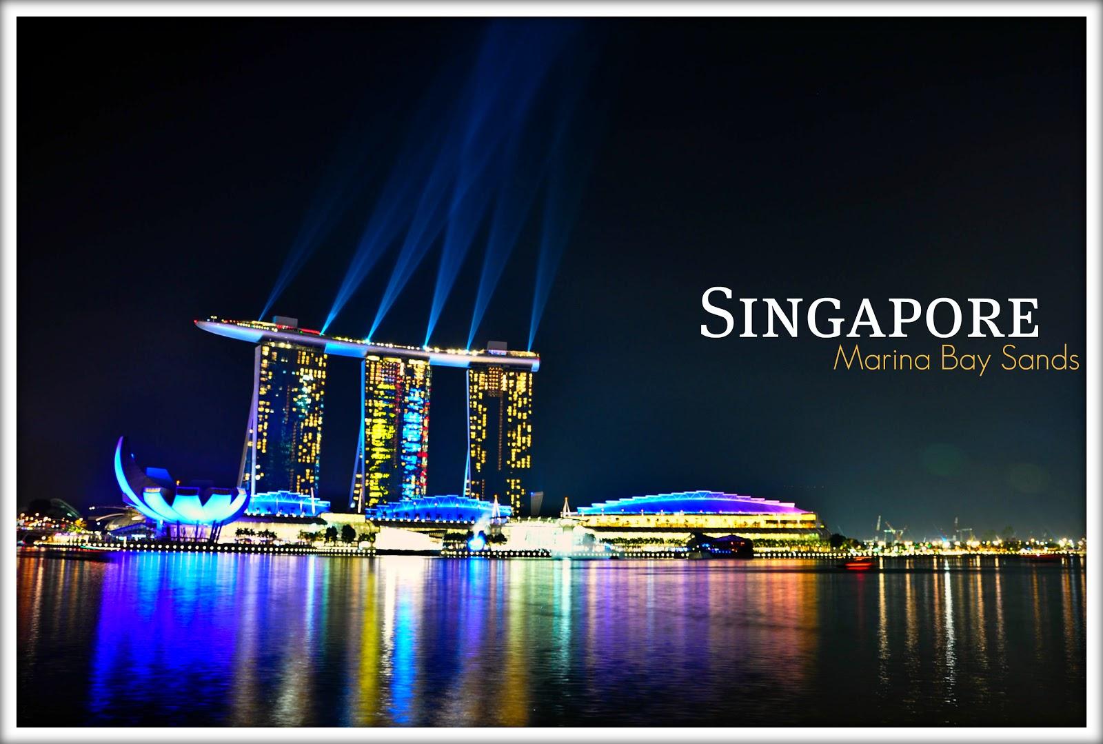 Singapore, Marina Bay Sands | Chik Chak!