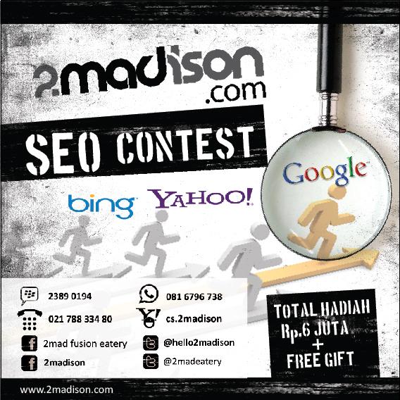 Menuju Page 1 Posisi 2 Google.co.id Dalam Kontes Seo 2 Madison