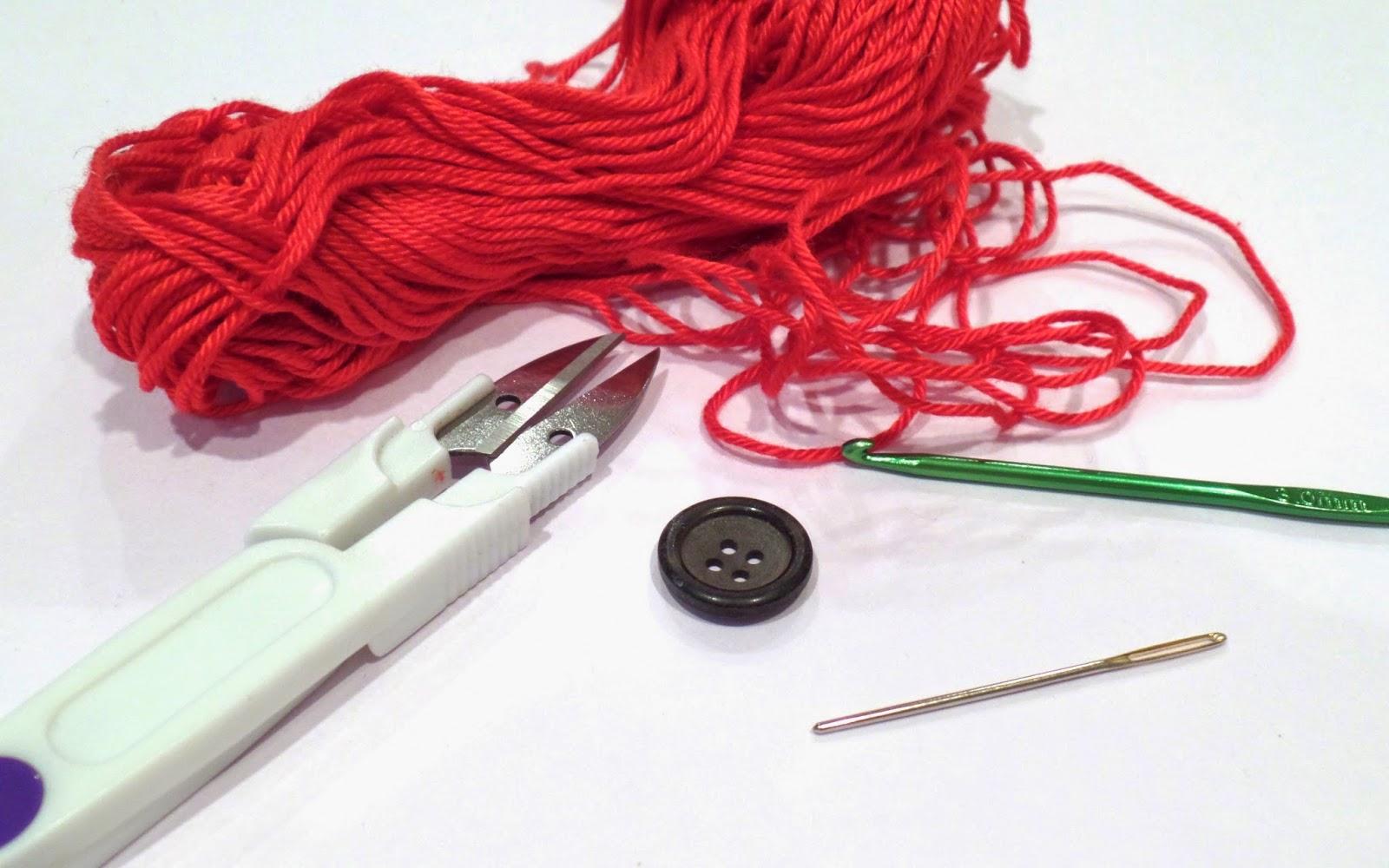 remembrance poppy crochet