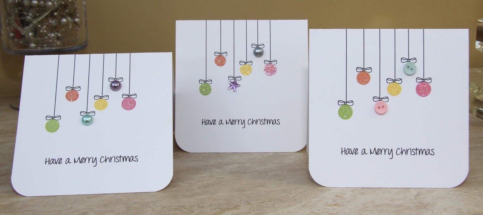 Handmade with Love: School Christmas Cards