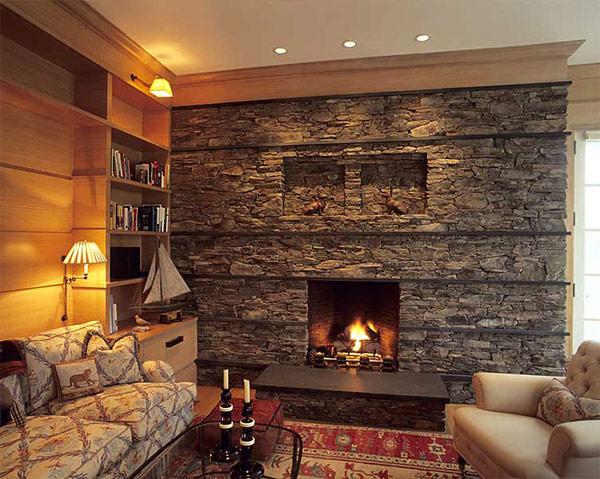 Chimeneas en Piedra | Ideas para decorar, diseñar y mejorar tu casa.