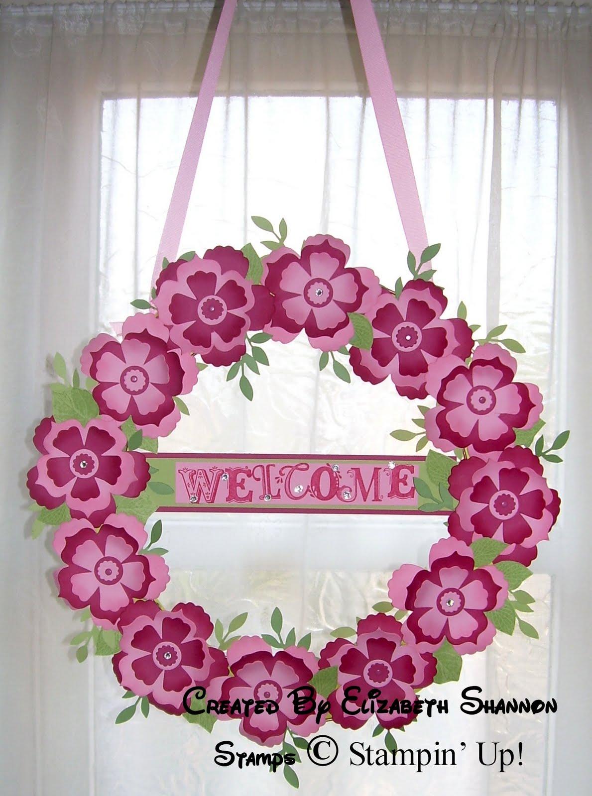 Elizabeths Craft Room Welcome Wreath